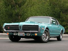 1968 Mercury Cougar XR7 cousin Joey had one just like this