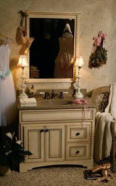 Ideas & Inspiration for Kitchen Cabinets, Bathroom, Laundry Rooms, Interior Door, Walkin Closets - Bertch Cabinets Bathroom Cabinetry, Bathroom Laundry, Bathroom Sinks, Laundry Rooms, Kitchen Cabinets, Bertch Cabinets, Powder Room Vanity, Natural Stone Countertops, Vanity Cabinet
