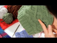 Wavy Stitch Beanie - Crochet Tutorial - sizes 3 months to adults - YouTube