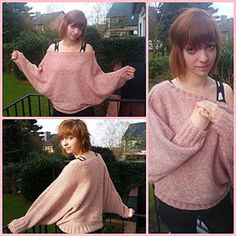 Ravelry: Project Gallery for Modell 266/3 Poncho-Pullover pattern by Junghans-Wolle