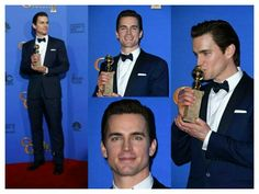 At the Golden Globes Normal Heart, Most Handsome Men, Matt Bomer, White Collar, Golden Globes, Perfect Man, Acting, Singing, In This Moment