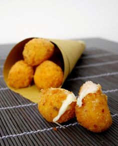 Mozzarelline panate e fritte   Mastercheffa