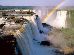Sljapko Lokic AM - Community - Amazing Places to See (Discussion) Cataratas do Iguaçu Iguazu Falls - Location Argentina Beautiful Waterfalls, Beautiful Landscapes, Natural Waterfalls, Famous Waterfalls, Beautiful World, Beautiful Places, Amazing Places, Amazing Photos, Beautiful Pictures
