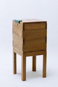 Woodworking Project: Mosque Charity Box (aka Kotak Amal Masjid) by noor.hilmi, via Flickr