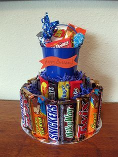 How to Assemble Candy Cake Step by Step for Any Occasion