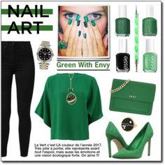 Green With Envy : Wintery Nail Polish