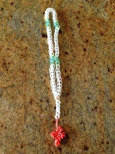 My rainbow loom rosary for nona