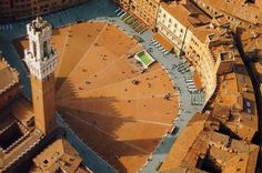 Siena Italy Piazza del Campo - could sit here for hours...and hours...