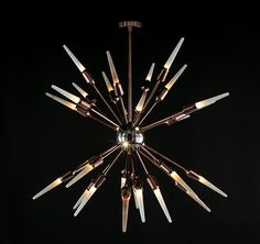 Sputnik Chandelier. Gallery Collection 2018. Mariner Luxury Furniture & Lighting