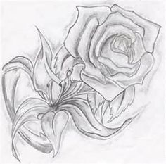 De Rosas A Lapiz Tattoos Gallery And Post Dibujos Tattoo
