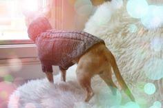 Grey Feelings Wool Sweater. 100% Wool. Pris: 299,-  www.glamdog.org