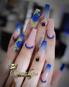 Best Acrylic Nails Part 12 Fancy Nails, Bling Nails, 3d Nails, Cute Nails, Pretty Nails, Fabulous Nails, Perfect Nails, Gorgeous Nails, Best Acrylic Nails