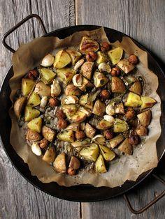 Rustic Herb Potatoes