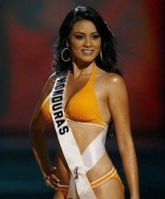Diana Gabriela Barrasa Miss Honduras 2008.
