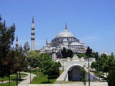 Suleymaniye Mosque  Istanbul, Turkey