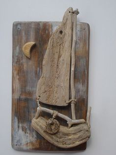 Driftwood (disambiguation) Driftwood is wood that has been deposited on land by the action of waves. Driftwood may also refer to: Seashell Crafts, Beach Crafts, Diy And Crafts, Arts And Crafts, Driftwood Beach, Driftwood Art, Driftwood Sculpture, Sculpture Painting, Driftwood Projects