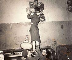 marlene dietrich world war 2 | Actress-Marlene-Dietrich-kisses-a-soldier-returning-home-from-war-1945 ...