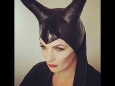 How to do Maleficent Makeup for Halloween