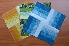 Jelly Roll Quilt Squares (photo design only) from Use the Loot: #quilt #jellyroll #square