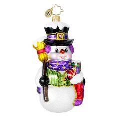 Polish artist and designer of handblown handcrafted ornaments -- lovely Snowman for Radko collector on Christmas Day!! Christopher Radko Purple Ribbon Pal Ornament Radko http://www.amazon.com/dp/B007AKEUI6/ref=cm_sw_r_pi_dp_cOhEub0A3M8M0