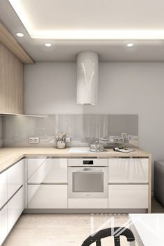 apartments in nice Project apartment Gdynia Wiczlino estate Sokolka Zielenisz Developer HOSSAPart 2 Kitchen Room Design, Modern Kitchen Design, Kitchen Layout, Interior Design Kitchen, Nice Kitchen, Copper Kitchen Decor, Home Decor Kitchen, Kitchen Living, Home Kitchens