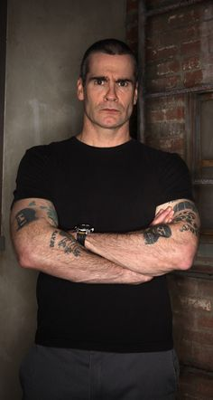 Henry Rollins  Is one of those actor/artist's who actually thinks. He's smart as hell. I respect him alot. Does he still have that show on IFC?