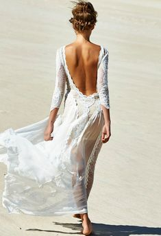Grace Loves Lace - The Golden Hour Collection. If a free spirited love of travel is at the core of your destination wedding, then the beyond-beautiful new The Golden Hour Collection from bohemian bridal brand Grace Loves Lace will take your breath away. Grace Loves Lace, Stunning Wedding Dresses, Beautiful Dresses, Gorgeous Dress, Amazing Dresses, Boho Beach Wedding Dress, Beautiful Beach, Boho Wedding, Wedding Gowns