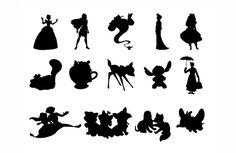 Disney Trip - Silhouettes