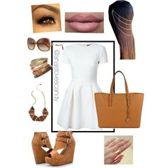 Untitled #4 by anaisholguin on Polyvore featuring polyvore, fashion, style, Alexander McQueen, Ashley Stewart, Michael Kors, Mata Traders and Wallis