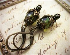 Customized Medieval Renaissance Inspired Earring by AfterDark, $16.00