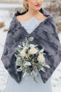 Sparkly Winter Wedding at the DoubleTree Cranberry Bridesmaid Inspiration, Wedding Venue Inspiration, Wedding Ideas, Wedding Themes, Wedding Decor, Winter Wedding Flowers, Wedding Cakes With Flowers, Flower Cakes, Winter Weddings