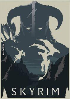 The Elder Scrolls Skyrim Dragonborn Poster Elder Scrolls V Skyrim, The Elder Scrolls, Elder Scrolls Online, Video Game Posters, Video Game Art, Video Games, Juegos Offline, Witcher Wallpaper, Skyrim Game