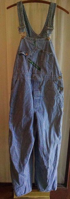 Vintage NOS Store Stock Pointer Brand Denim Carpenter Jeans Dungarees 50 X 32