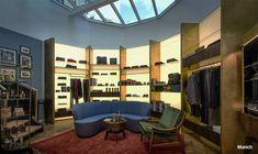 Slowear Shops | Carlo Donati Studio Conference Room, Divider, Loft, Bed, Table, Shopping, Furniture, Germany, Shops