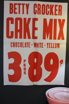 vintage grocery store poster - Google Search