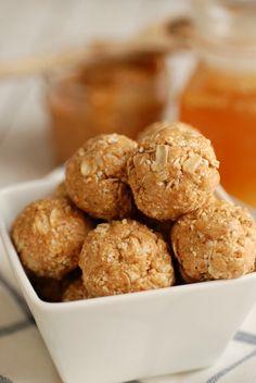 No-Bake Peanut Butter Balls - Real Mom Nutrition