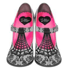 Amazon.com | Hot Chocolate Design Chocolaticas High Heels Spider Web Women's Mary Jane Pump | Pumps  https://www.amazon.com/gp/product/B00SK7T7WM/ref=as_li_qf_sp_asin_il_tl?ie=UTF8&tag=rockaclothsto-20&camp=1789&creative=9325&linkCode=as2&creativeASIN=B00SK7T7WM&linkId=0a609e5dd6720281fe52f63d02b757bd