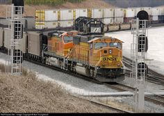 RailPictures.Net Photo: BNSF 9891 BNSF Railway EMD SD70MAC at Austell, Georgia by Bart Youngblood