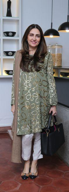 LOOK OF THE DAY: AAMNA TASEER.....Nov 18, 2014