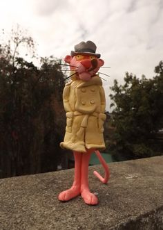 La pantera Rosa detective, me gusto mucho hacer este modelo