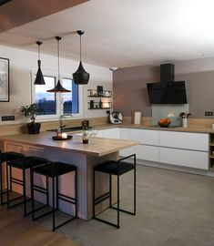 travel idea Kitchen decor Inspi once.upon.home _ - travelideas Home Decor Kitchen, Kitchen Design Small, Kitchen Remodel, Kitchen Decor, Interior Design Kitchen, Open Plan Kitchen, Home Kitchens, Kitchen Renovation, Kitchen Design