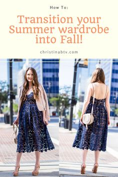 Best ways to transition your summer wardrobe into Fall #fallfashion