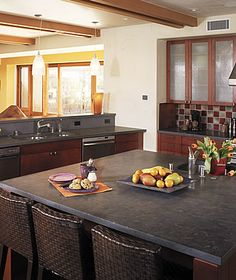 Great Concrete Countertops. You Can Stain These Almost Any Color You Want. Also  You Can