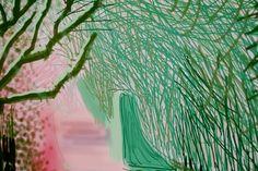 "Exposition ""L'Arrivée du printemps"" - David Hockney"