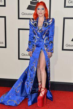 Lady Gaga aux Grammy Awards 2016