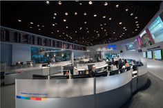 Down on Earth, teams of specialists control every move made by the spacecraft we send into space. Click through these images to explore some of the many control rooms located at ESA's operations centre in Darmstadt, Germany