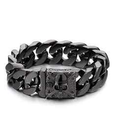 Adramata Black Brown Leather Bracelet for Men Women Punk Wide Leather Cuff Bracelet Cool Braided Wristbands Adjustable Gothic Wristband Bangle Jewelry