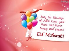 Eid Mubarak Greetings | Eid Wishes | Eid Wallpapers  [ More Eid Pictures: http://www.fun2video.com/cute-pictures/ ]