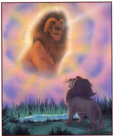 Simba and Mufasa - The Lion King Fan Art (30759966) - Fanpop