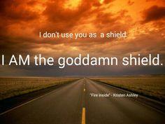 "Kristen Ashley ""Fire inside"" quote"